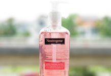 Sau rua mat Neutrogena Visibly Clear Pink Grapefruit review