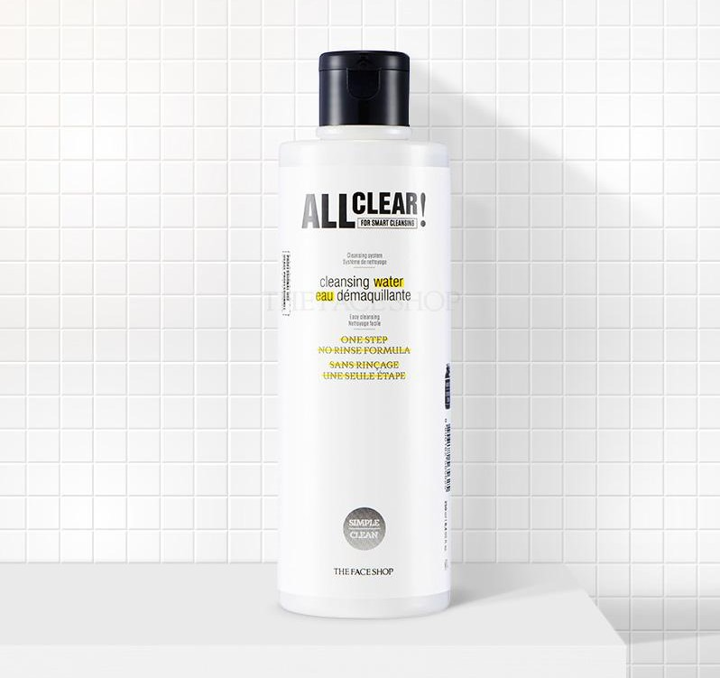 THEFACESHOP ALL CLEAR CLEANSING WATER