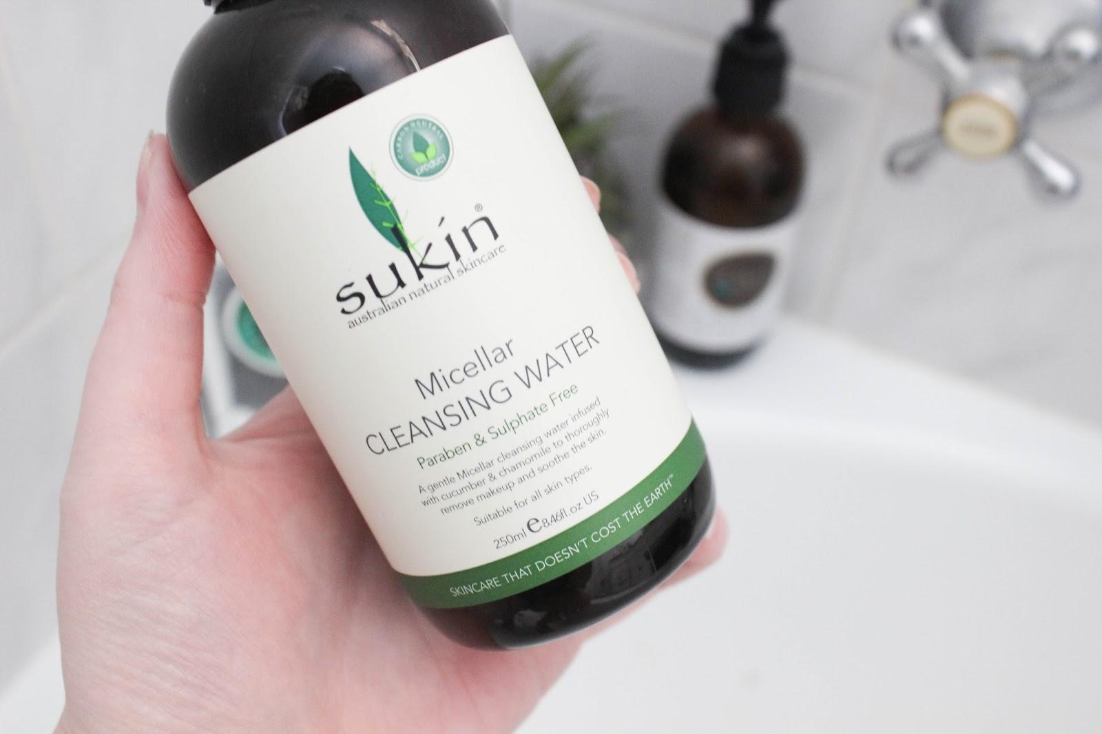 review nước tẩy trang sukin về bao bì, nước tẩy trang sukin, nước tẩy trang sukin review