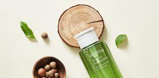 review nước tẩy trang Innisfree trà xanh