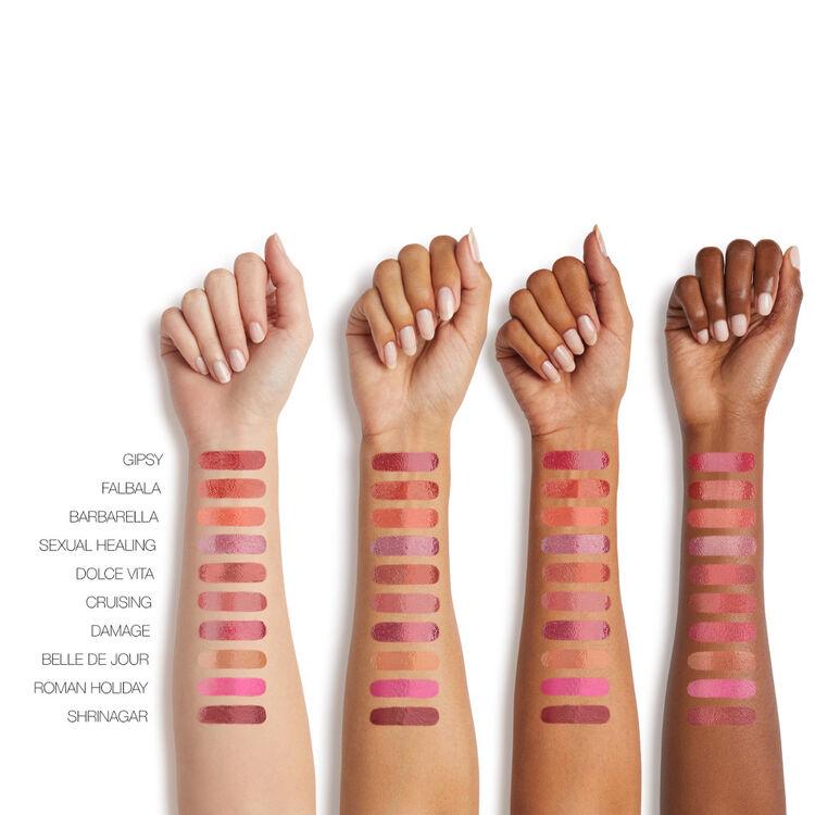 son môi Nars Audacious Lipstick về màu son