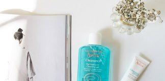 review sữa rửa mặt avene cleanance gel