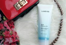 review sữa rửa mặt laneige multi cleanser