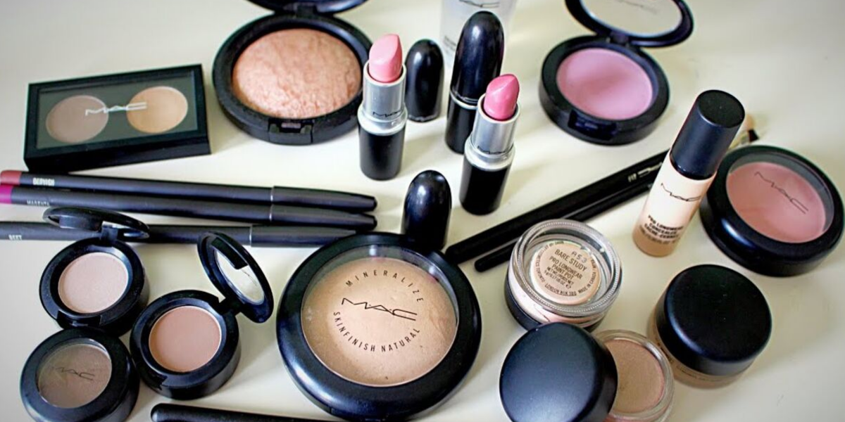 M.A.C makeup products