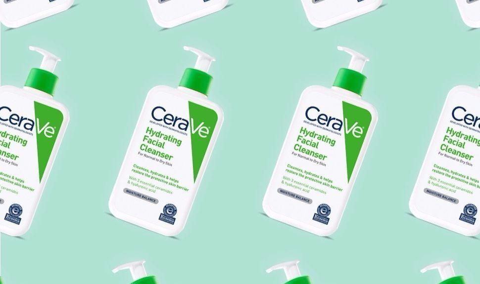 CeraVe Hydrating Facial Cleanser vo cung nhe diu cho da