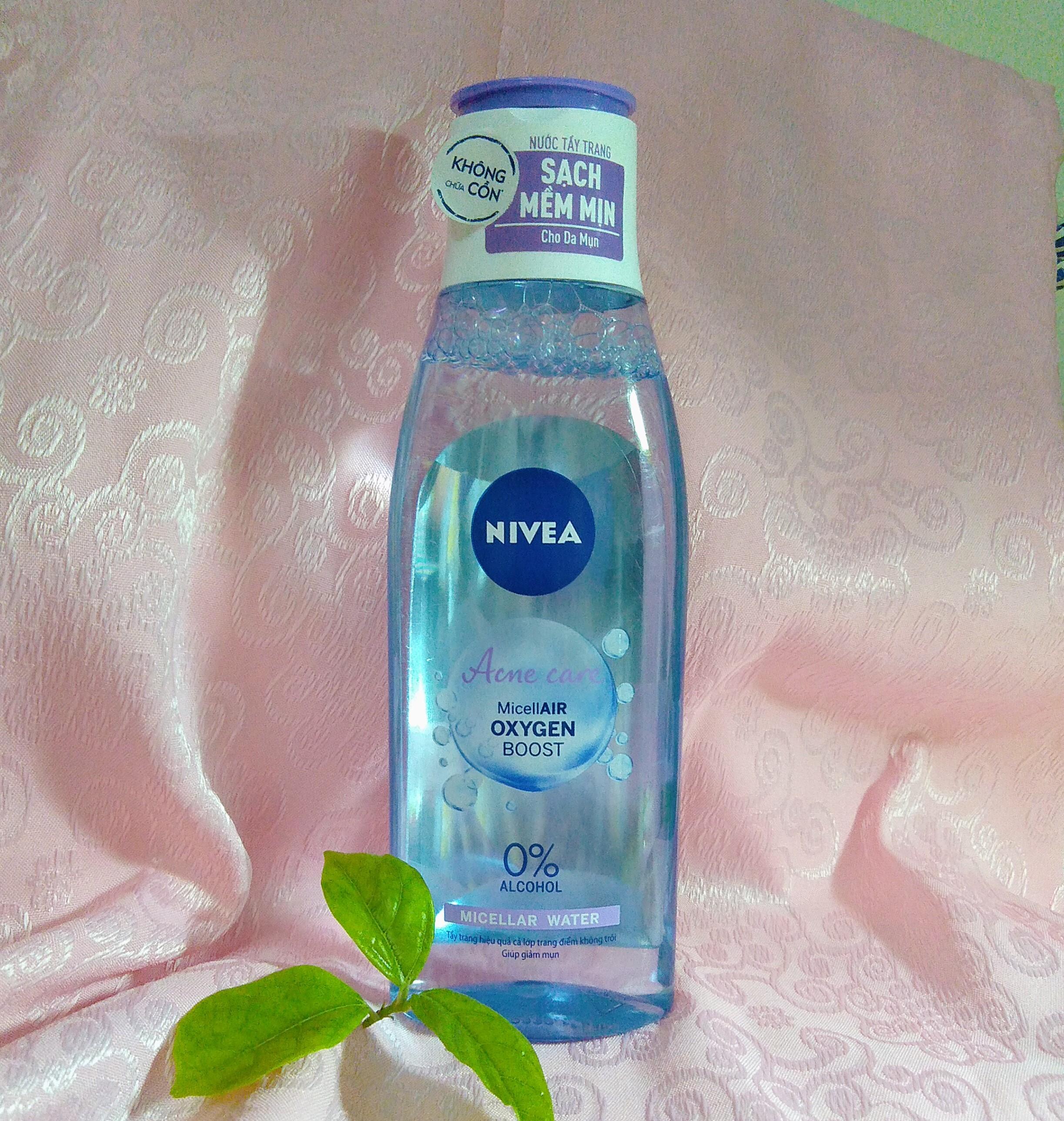 Nivea Acne Care Micellair Oxygen Boost Micellar Water