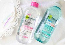 Nuoc tay trang Garnier Skin Naturals Review