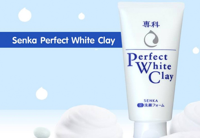 Sua rua mat Perfect White Clay co tot khong