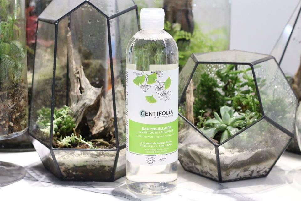 nước tẩy trang rau má centifolia, nước tẩy trang rau má centifolia có tốt không, review nước tẩy trang rau má centifolia về thiết kế