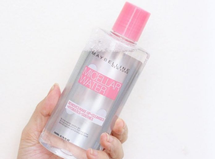 review nuoc tay trang Maybelline Micellar Water