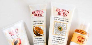 review sữa rửa mặt Burt's Bees