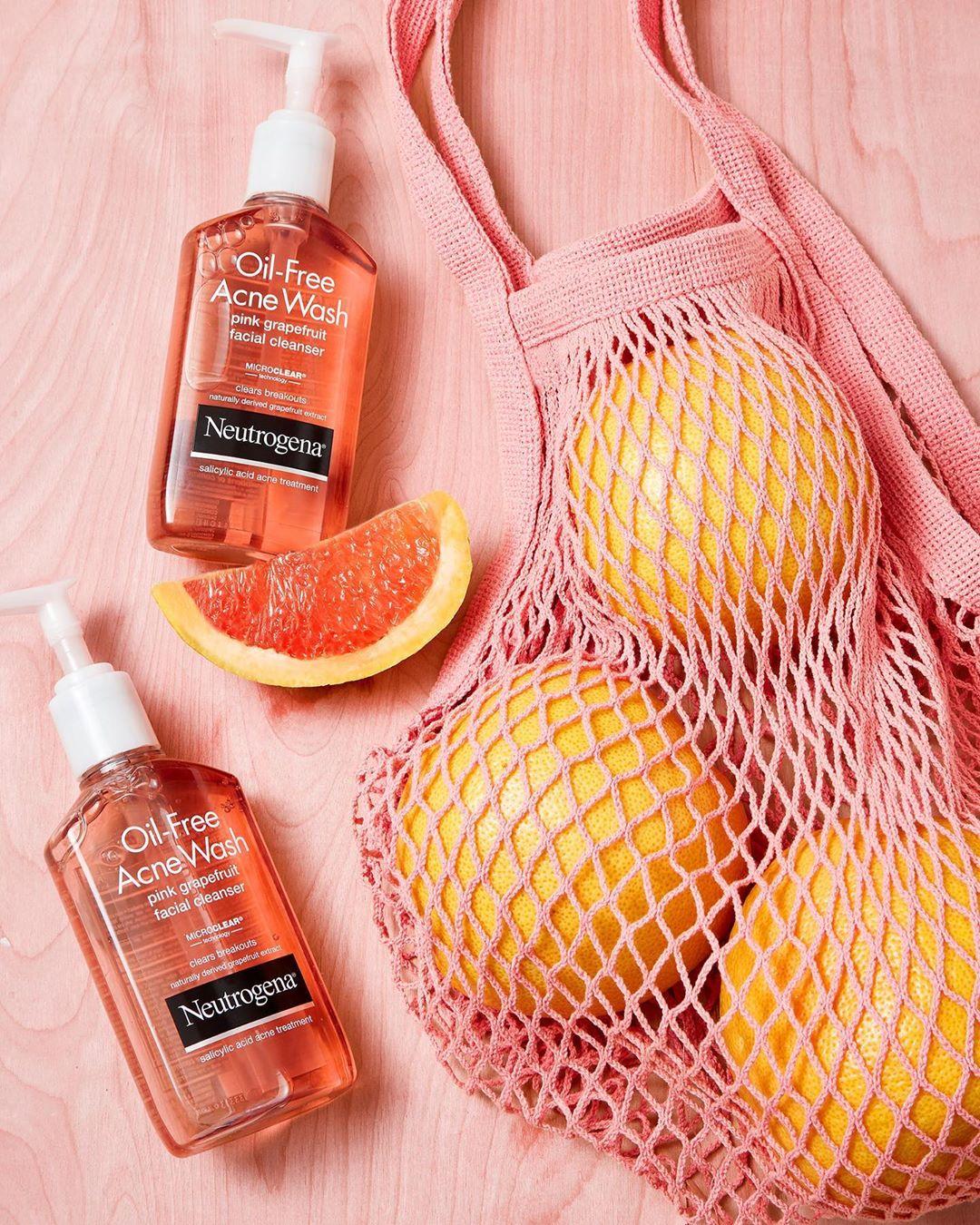 review sữa rửa mặt Neutrogena Pink Grapefruit về thành phần
