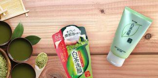 review sữa rửa mặt trà xanh shirochasou